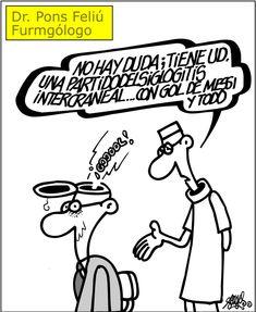 [Forges] El fútbol como enfermedad Forges en El País 02/04/2016