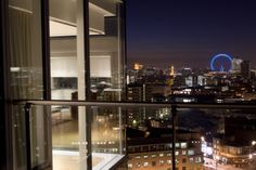 The view of central #London from our penthouse apartment at Empire Square near London Bridge.