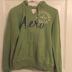 Green hoodie Super comfy! Aeropostale Jackets & Coats