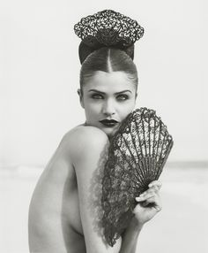 Helena Christensen by Herb Ritts