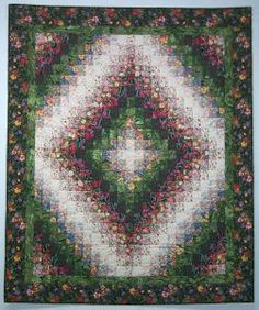 I like to make my Trip Around the World quilts as a colorwash . Make My Trip, Bargello Quilts, City Photo, Bohemian Rug, Around The Worlds, Plants, Devil, Porch, Quilting