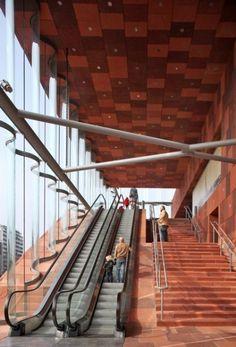 Neutelings Riedijk Architects : MAS | Museum aan de Stroom : Hanzestedenplaats : Antwerpen : Belgium