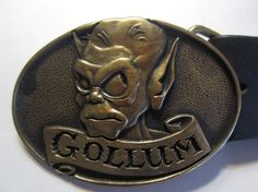 Vintage GOLLUM 1979 Lord Of The Rings Solid Brass by kookykitsch, $25.00
