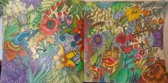 Coloured with Faber Castell polychromos mainly....from Escape to Wonderland