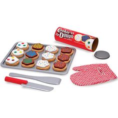 "Melissa & Doug Wooden Kitchen Food - Baking Cookies Set - Melissa & Doug - Toys ""R"" Us"