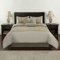 Croft & Barrow Shimmer Damask 7-pc. Comforter Set Cal. King $137.99  Kohls.com