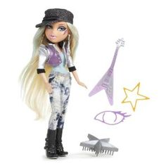 Bratz Rock Doll Cloe --- http://www.amazon.com/Bratz-500032-Rock-Doll-Cloe/dp/B004DI7SXM/?tag=RCRT-20