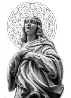 Angel Sculpture, Roman Sculpture, Sculpture Art, Medusa Tattoo Design, Angel Tattoo Designs, Christ Tattoo, Jesus Tattoo, Statue Tattoo, Statue Of Liberty Tattoo