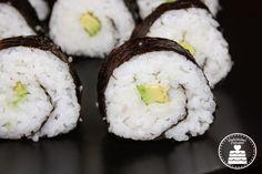 Sushi vegano (Hosomaki con verdure) - Vegan sushi (Hosomaki with vegetables)