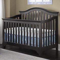 Mesa Black Convertible Crib