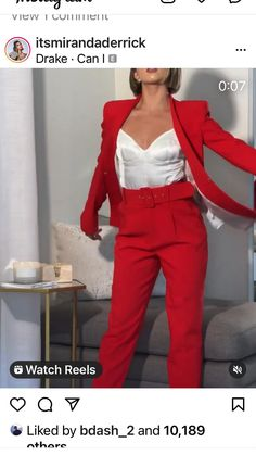 Fashion Statements, Suits, Red, Style, Swag, Suit, Wedding Suits, Outfits