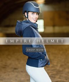 The elegant and stunning empire helmet is the ultimate combination of style & safety. The Helmet has a chin strap woven from fine synthetic yarn that creates a soft leather look and feel, it comes with three detachable linings in different sizes. Helmet Shop, Soft Leather, Equestrian, Riding Helmets, Empire, Shop Now, Safety, Collections, Things To Come