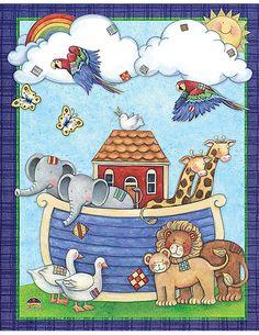Noah's Ark Pocket Folder from Susan Winget