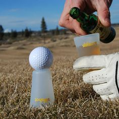 SiliShot - Silicone Shot Glass, Bottle Topper, and Golf Tee