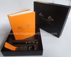 A custom gift set contains of blocknote, metal pens and leather USB flashdrive in a deluxe box that made specially. Ordered by business group: PT Equine Technologies, PT Xsis Mitra Utama, Xsis Academy, PT Optima Data Internasional, Jakarta Indonesia Metal Pen, Gift Packaging, Jakarta, Customized Gifts, Pens, Flash Drive, Usb, Group, Business