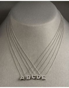 Love Letter Necklace (for initials or any word)