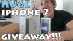 HUGE IPHONE 7 GIVEAWAY!!!  I really would love to win this