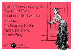 SHOP Online: Use Code  PINTEREST20  and receive 20% off your entire order! 920-707-1700   http://amystoybox.yourpassionconsultant.com  www.facebook.com/amystoys Fifty Shades hardware, Christian Grey, Fifty Shades of Grey Funny Quotes, 50 Shades Sayings, Funny Quotes, red room of pain