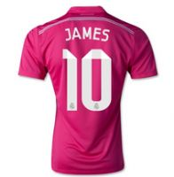 10f6d584c4e Real Madrid CF 2014- 2015 Season JAMES #10 AWAY SOCCER JERSEY James  Rodriguez,