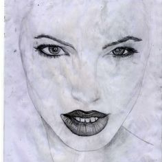 Pencil Angelina Jolie