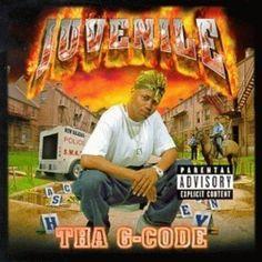 Juvenile - Tha G-Code [Explicit Lyrics] Rap Albums, Hip Hop Albums, Best Albums, Greatest Albums, Southern Hip Hop, Rap Album Covers, Cash Money Records, Down South, Rap Music