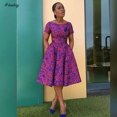 SHORT ANKARA MAXI DRESS PERFECT FOR THE WEEKEND