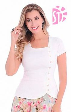 love the style Blouse Styles, Blouse Designs, Clothing Patterns, Dress Patterns, Designer Dresses, Fashion Dresses, Clothes For Women, Womens Fashion, Casual