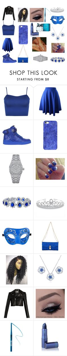 """""""The dark blue sky"""" by queenbabyday ❤ liked on Polyvore featuring WearAll, Moschino, Audemars Piguet, SoGloss, Bling Jewelry, Dolce&Gabbana, BERRICLE, Yves Saint Laurent, Kat Von D and Lipstick Queen"""