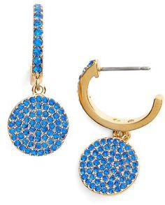 Women's Kate Spade New York Shine On Pave Drop Earrings