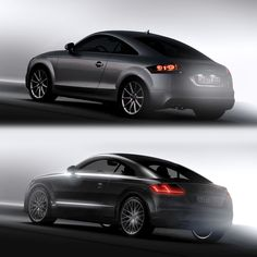 Audi TT 2nd and 3rd generation - Design Comparison