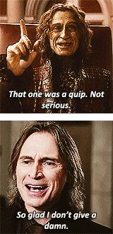 """Rumple quotes from 1.12 """"Skin Deep"""" and 2.12 """"In the Name of the Brother"""""""