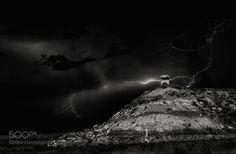 Thunderstorm you're a beautiful desaster by YvetteDepaepe