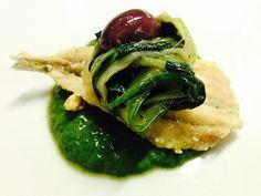 Alici con bietole croccanti   Food Loft - Il sito web ufficiale di Simone Rugiati