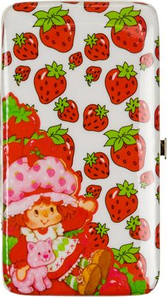 Strawberry Shortcake hinged wallet!