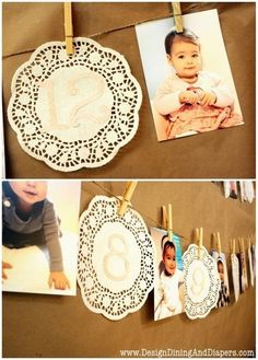 shabby chic first birthday girl decoration ideas - Google Search