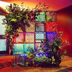Milk crates reimagined for a #lanewaysoiree at the @interconmel #melbourne…