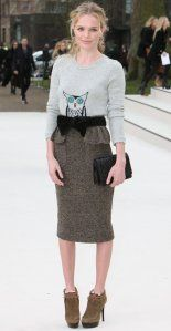 This Kate Bosworth owl sweater outfit is basically a Roscharch test