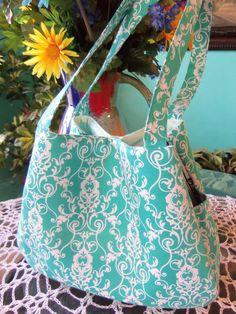 Trendy Fashionable Turquoise Handmade by SewTouchingDesigns