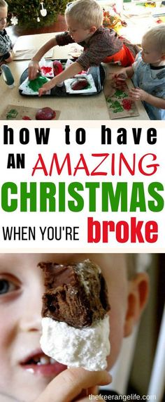 Tips on how to have an amazing Christmas even when you are broke from someone who has been there! Christmas on a Budget | Frugal Christmas | Holiday Traditions
