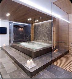 Dream House Interior, Luxury Homes Dream Houses, Dream Home Design, Dream Bathrooms, Dream Rooms, Beautiful Bathrooms, Bathtub Dream, Luxury Bathrooms, Small Bathrooms