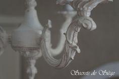 Réalisation d'abat-jour et patine de lustre d'entrée | Atelier Secrets de Siège