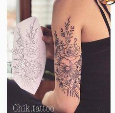 "Flower mandala tattoo Flower mandala tattoo Flower mandala tattoo ""pinner"": {""username"": ""mojcaverhovec"", ""first_name"": ""Mojca"", ""domain_url"": null, ""is_default_image"": false, ""image_medium_url"":. Trendy Tattoos, Cute Tattoos, Body Art Tattoos, New Tattoos, Small Tattoos, Tatoos, Tricep Tattoos, Arrow Tattoos, Foot Tattoos"