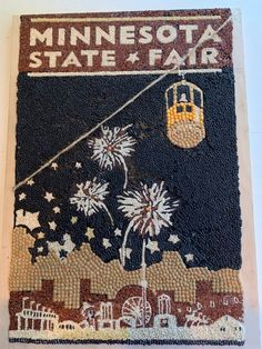 STAFF PICK: TOP 10 PICK! (Class 2 - Amateur) Thanks to this crop art entry from Alycya C. of Minneapolis, Minn. Minnesota State Fair, Minneapolis, Memories, Day, Memoirs, Souvenirs, Remember This