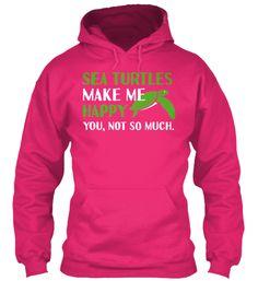 Hoodies and Tees for Sea Turtle Lovers!!