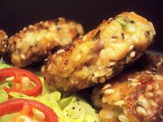 LCHF-bloggen: Asiatiske Lakseboller Lchf, Baked Potato, Low Carb, Meat, Baking, Dinner, Ethnic Recipes, Cabinet, Food