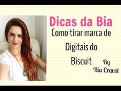 Como tirar as marcas das digitais do biscuit - Dicas da Bia - Bia Cravol
