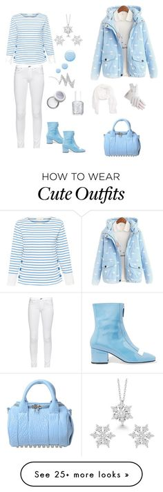 """Snow Day Outfit"" by siriusfunbysheila1954 on Polyvore featuring Chinti and Parker, rag & bone, Dorateymur, Hinge, La Preciosa, Essie, NYX and Topshop"