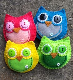 October the Toothfairy Owl Doll/Ornament by patsfabriccreations, $7.99