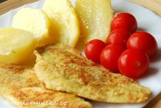 Ryba po mlynářsku Cornbread, French Toast, Cooking Recipes, Cheese, Breakfast, Ethnic Recipes, Food, Chef Recipes, Hoods