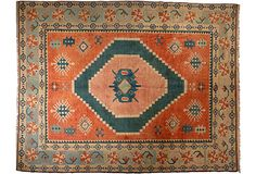 "Turkish Sultanhan, 8'10""x11'1"" from Pak Oriental Rugs, San Francisco, on One Kings Lane, Sale ends 6/9."